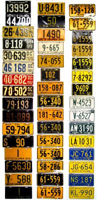 District Of Columbia License Plate History