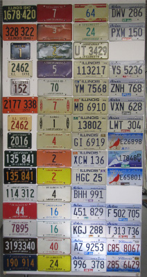 Illinois License Plate History