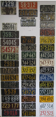 Mississippi License Plate History