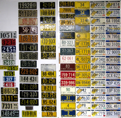 West Virginia License Plate History